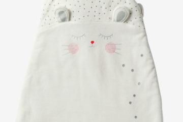 Ärmelloser Samt-Schlafsack für Babys