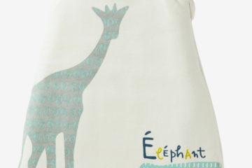 Ärmelloser Samt-Schlafsack für Babys mehrfarbig Größe 70Cm von vertbaudet