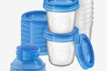 10er-Set Muttermilch-Behälter Philips Avent transparent von
