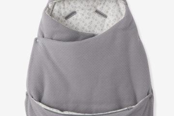 2-in-1-Ausfahrsack für Babys grau