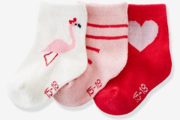 3er-Pack Socken für Babys
