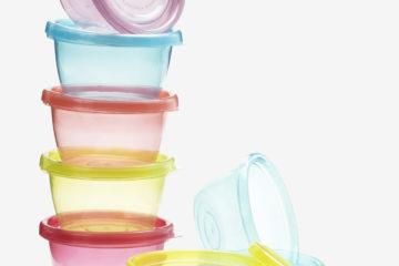 7er-Pack Aufbewahrungsdosen mehrfarbig von vertbaudet