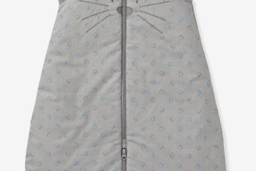 Autositz-Schlafsack mit katzen-Motiv grau Größe 70Cm von vertbaudet