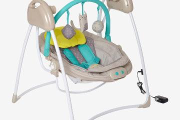 Babyschaukel mit Spielbogen ´´MagicMouv´´ beige von vertbaudet