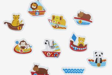 Badewannen-Sticker für Kleinkinder mehrfarbig von vertbaudet