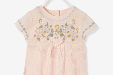 Bestickte Baby-Bluse
