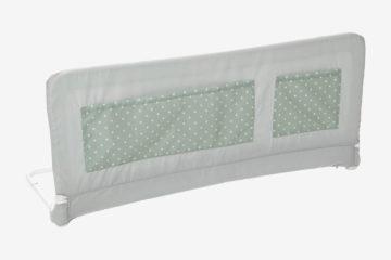 Bettgitter für Zuhause und unterwegs grau bedruckt/sterne von vertbaudet