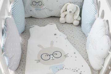 Bettumrandung aus Baumwolle mehrfarbig Größe 180X30 von vertbaudet