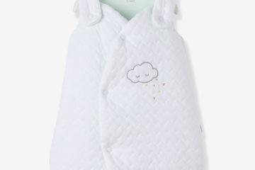 Bio-Kollektion: Frühchen-Schlafsack weiß Größe 80Cm von vertbaudet