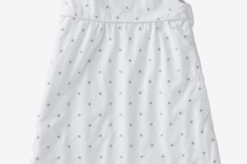 Bio Kollektion: Sommer-Schlafsack ´´Little Star´´ weiß/sterne Größe 70Cm von vertbaudet