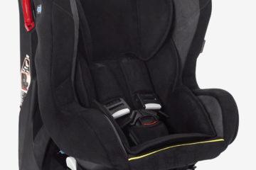 Drehbarer Auto-Kindersitz +/1 ´´rotasit´´ anthrazit/velours von vertbaudet