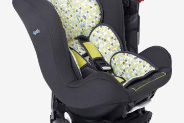Drehbarer Auto-Kindersitz +/1 ´´rotasit´´ grün bedruckt von vertbaudet