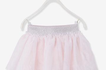 Festlicher Tüllrock für Baby Mädchen hellgrau