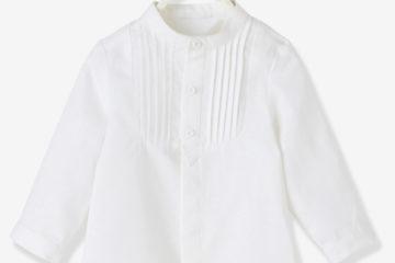 Festliches Hemd mit Stehkragen