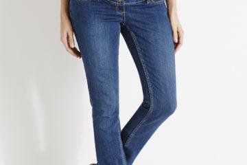 Gerade Umstands-Jeans