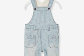 Jeans-Latzhose für Babys