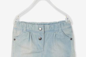 Jeansshorts Baby Mädchen bleached