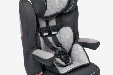 Kindersitz ´´Kidsit+´´ Gr. 1/2/3 anthrazit/sterne von vertbaudet