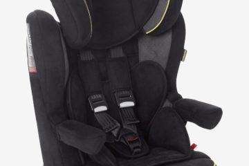 Kindersitz ´´Kidsit+´´ Gr. 1/2/3 anthrazit/velours von vertbaudet