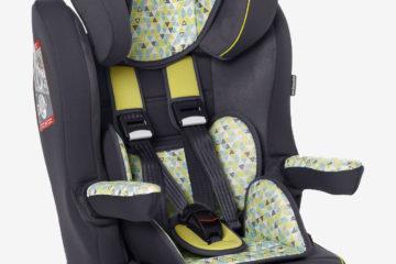 Kindersitz ´´Kidsit+´´ Gr. 1/2/3 grün bedruckt von vertbaudet