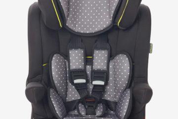 Kindersitz ´´Kidsit+ Isofix´´ Gr. 1/2/3 anthrazit/sterne von vertbaudet