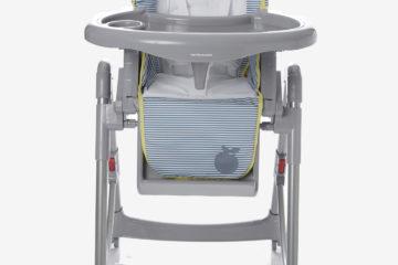 Kombi-Kinderstuhl ´´MagicSeat´´ blau gestreift von vertbaudet