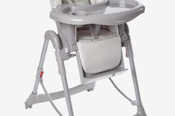 Kombi-Kinderstuhl ´´MagicSeat´´ taupe bedruckt von vertbaudet