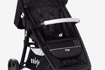 Komfort-Kinderwagen ´´RapidCity´´ schwarz/silber von vertbaudet
