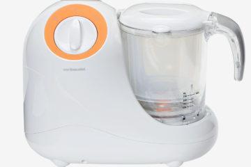 Multifunktions-Dampfgarer 700 W grau/orange von vertbaudet