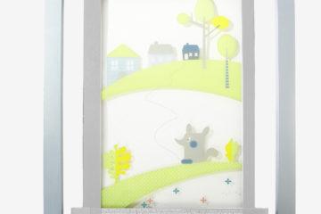 Plexiglas-Schutzgitter für Kleinkinder weiß von vertbaudet