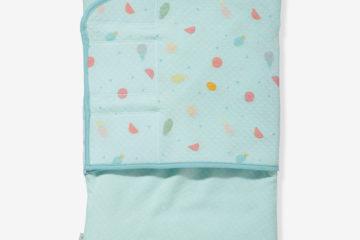 Pucksack für Babys hellblau von vertbaudet