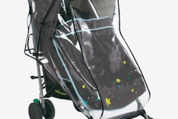 Regenverdeck für Kinderwagen mit sternen von vertbaudet