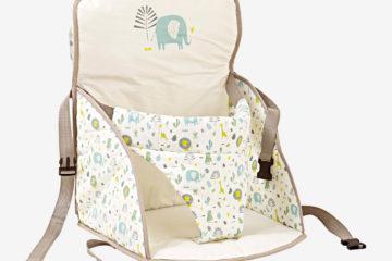 Reise-Sitzerhöhung ´´Nomadseat´´ für Babys tiermotive von vertbaudet