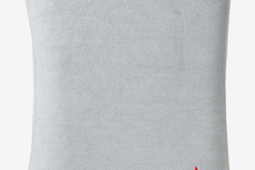 Schonbezug für Wickelauflagen aus Frottee grau von vertbaudet