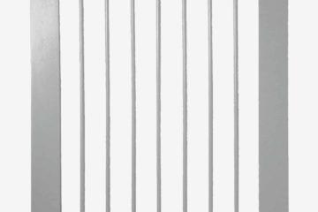 Schutzgitter aus Holz für Babys grau von vertbaudet