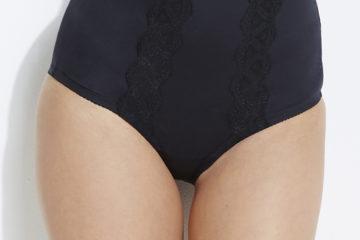 Shapewear Taillen-Slip für Damen schwarz