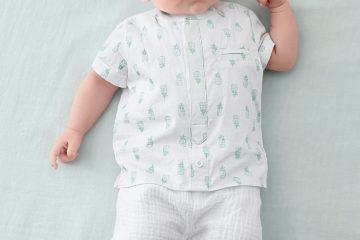 Shirtbody und Shorts für Babys