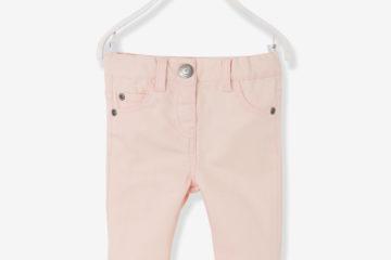 Slim-Fit-Hose für Baby Mädchen rosa
