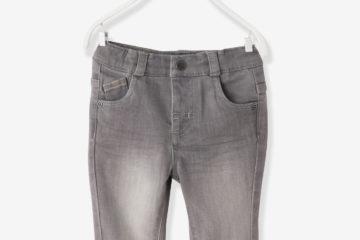Slim-Fit-Jeans für Baby Jungen grau