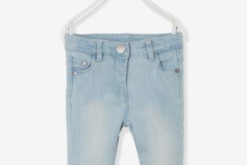 Slim-Fit-Jeans für Baby Mädchen bleached