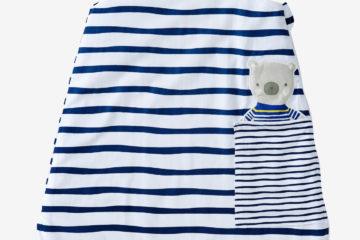 Sommerschlafsack für Babys gestreift Größe 70Cm von vertbaudet