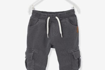 Sweathose für Baby Jungen anthrazit