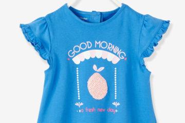 T-Shirt für Baby Mädchen blau