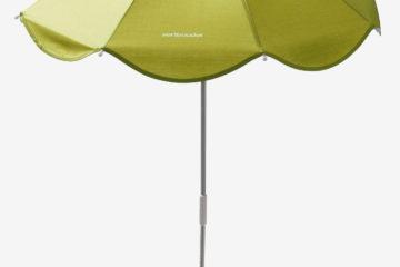 Universal-Sonnenschirm für Kinderwagen grün von vertbaudet