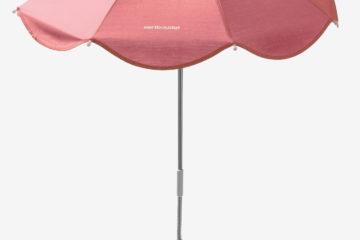 Universal-Sonnenschirm für Kinderwagen rosa von vertbaudet