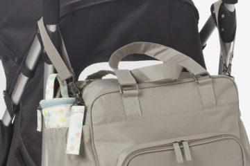 Wickeltasche ´´Utility´´ viele Fächer taupe von vertbaudet