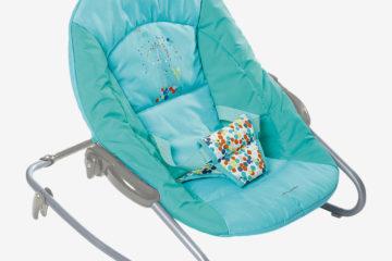 Zusammenlegbare Babywippe ´´Dodinou´´ blau von vertbaudet