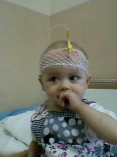 Aurela sehr krank